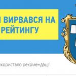 Дрогобич – друге місце в рейтингу прозорості міст за версією Transparent cities/Прозорі міста
