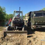 Впіймали злочинців, які займалися  незаконним видобутком гравію (ФОТО)