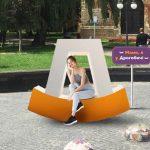 Де розмістити першу лавку, виготовлену у формі туристичного лого Дрогобича? Голосуйте!