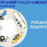 Європейський тиждень мобільності у Дрогобичі. ЗАХОДИ
