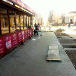 Пам'ятник жлобству на площі Ринок у Дрогобичі