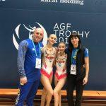Дрогобичанки зайняли друге місце у Кубку Світу зі спортивної акробатики