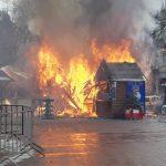 На різдвяному ярмарку у Львові стався вибух, п'ятеро постраждалих  (ФОТО/ВІДЕО)