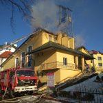 Трускавець: рятувальники ліквідували загорання даху в будівлі (ФОТО)