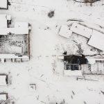 Засніжена Дрогобицька солеварнязвисоти пташиного лету(ФОТОФАКТ)