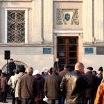 """""""Антисміттєвий"""" мітинг у Дрогобичі///Коментарі (ВІДЕО)"""