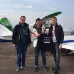 Дмитро Комаров встановив рекорд України, відвідавши максимальну кількість аеродромів за три дні/ Прилітали і у Дрогобич
