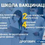 """Про вакцинацію без фейків /// 17 квітня – лекція-тренінг """"Будь здоровий! Школа вакцинації"""""""