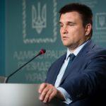 Міністр закордонних справ Клімкін іде у відставку