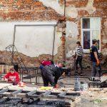Допомогли двом сім'ям та долучились до створення Молодіжного простору Дрогобича // БУР у Дрогобичі (ВІДЕО)