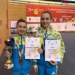 Дрогобичанки Олександра-Марія Табачинська та Юлія Пилип`як знову перші, знову перемога!