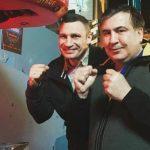 Кличко запропонував Саакашвілі стати главою партії «УДАР»