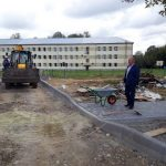 Заступник голови Дрогобицького району перевірив хід реконструкції дитячого садка в Нагуєвичах