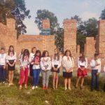 У селі Ролів, на Дрогобиччині, свято першого дзвоника провели на будові