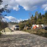 Розпочато капітальний ремонт дороги Верхнє Синьовидне – Східниця