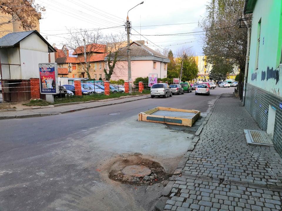 У центі Дрогобича облаштовують платну систему паркування, фото-1