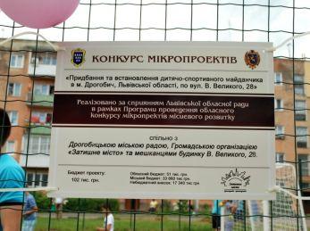 """Ще один спортивний майданчик запрацює у Дрогобичі! Ініціатива ГО """"Затишне місто"""" / Дрогобич"""
