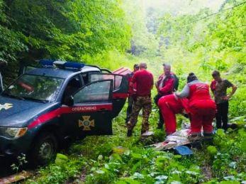 На Львівщині врятували туристку, якій стало погано під час сходження на гору Парашку